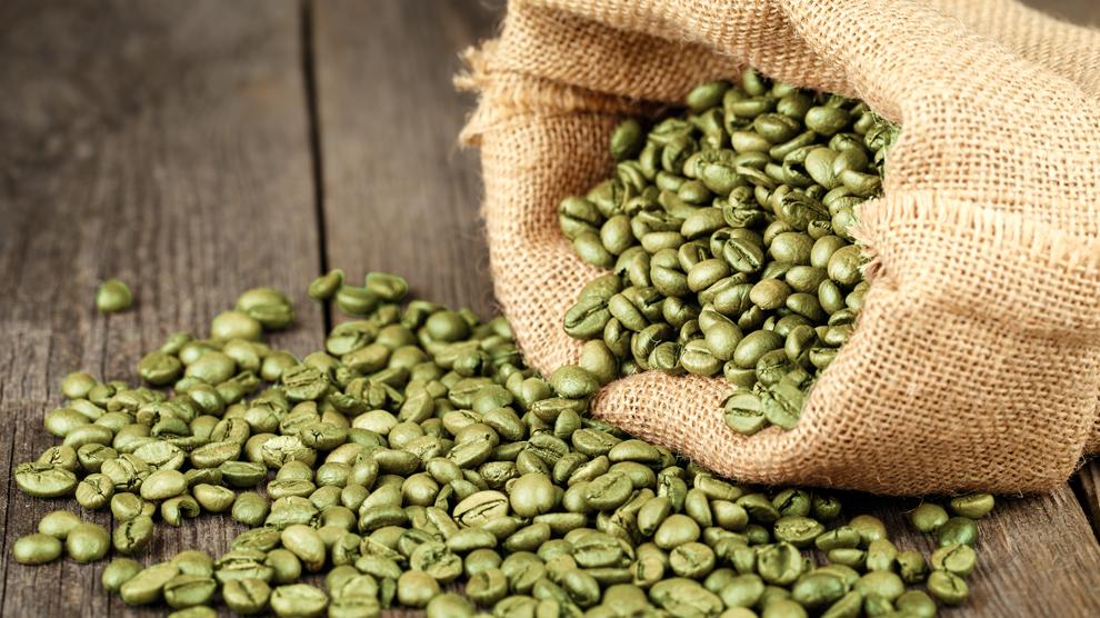 Žalios kavos pupelės