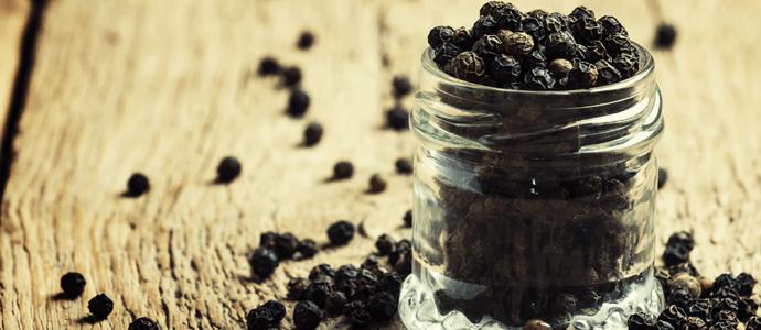 Ciberžolė juodieji pipirai